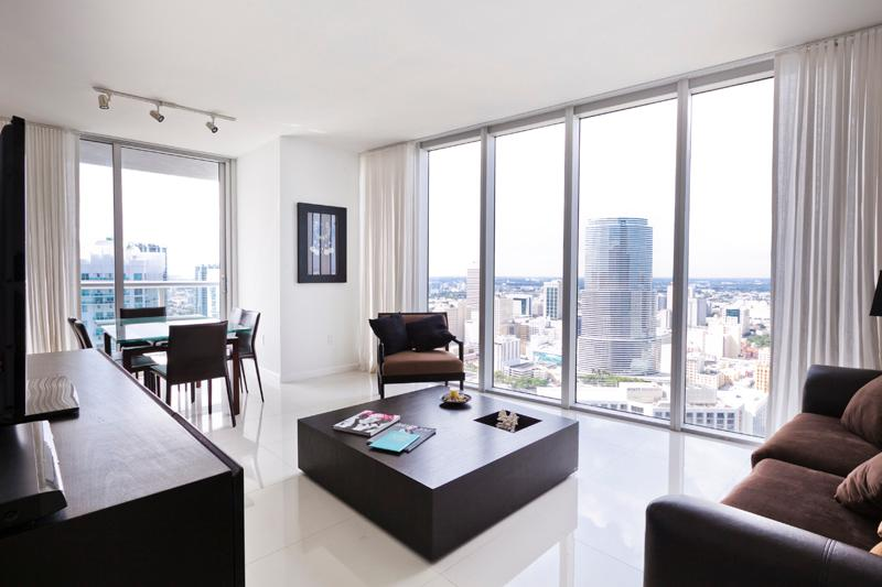 Sky City at Brickell Bay 2-bedroom - Image 1 - Coconut Grove - rentals