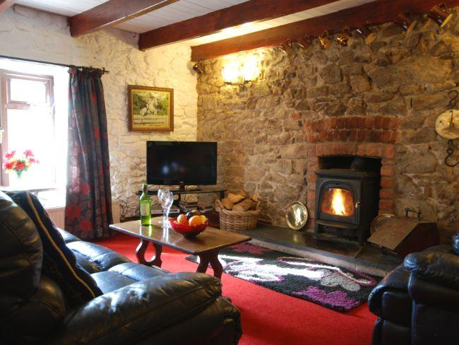 Cosy lounge with woodburner - TOCHW - Canaston Bridge - rentals