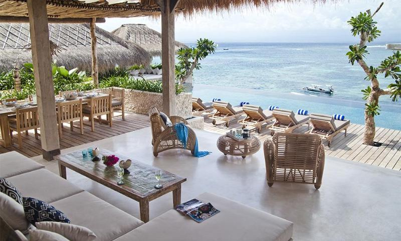 Outlook from the kitchen - Villa Biru - Nusa Lembongan - rentals