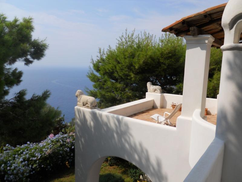 Villa Solaro holiday vacation villa rental italy, capri villa with view - Image 1 - Capri - rentals