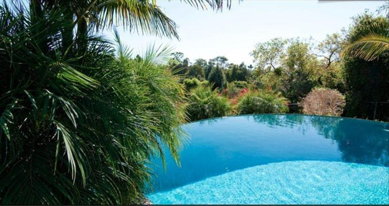 saltwater infinity pool - Hacienda Style House with Infinity Pool & Jacuzzi - Fallbrook - rentals