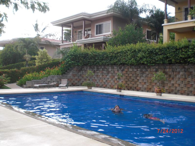 Saltwater pool 24X48 3-6 ft. - Best of all it's only 1 minute walk from the beach - Playa Hermosa - rentals