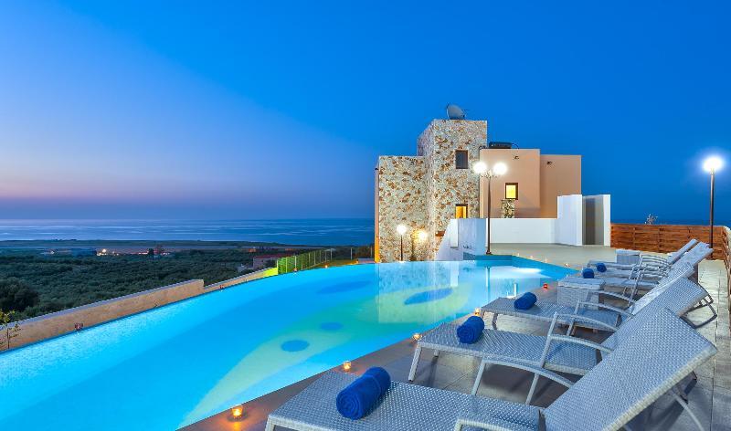before night... - Villa Iliada - Chania - rentals