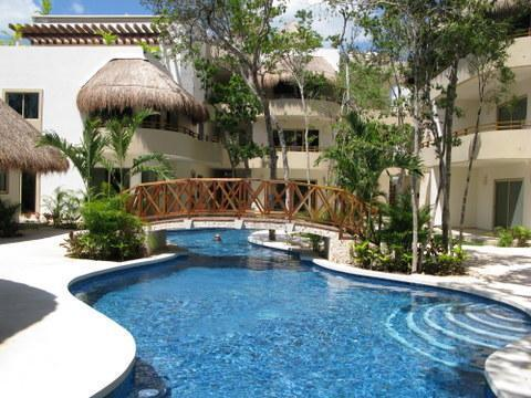 Probably the nicest pool in Tulum. Closest condos to the beaches. - Tulum Penthouse, 3 bedrooms, 3 bathrooms,  Pool - Tulum - rentals