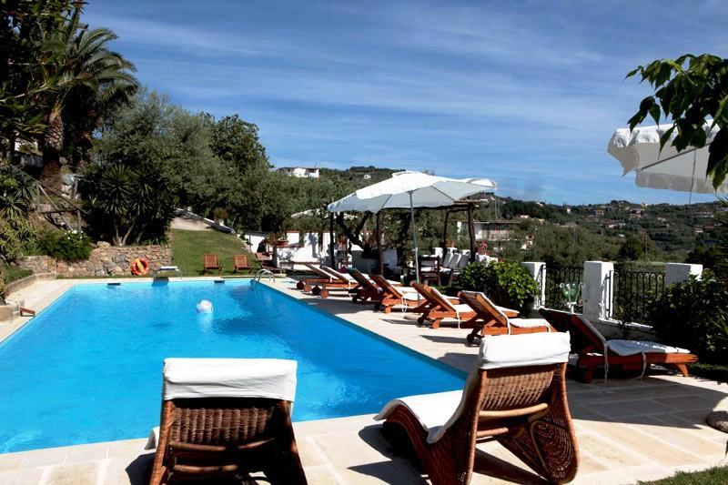 8 Bedroom villa with private pool & view of Capri - Image 1 - Massa Lubrense - rentals