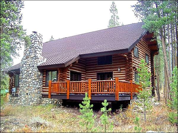 Log Cabin Home - Rustic Decor Throughout - Incredible Forest Views (7036) - Keystone - rentals