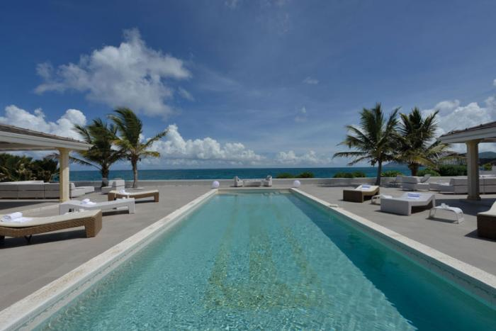 La Perla Palais at Terres Basses, Saint Maarten - Beachfront, Pool, Perfect For Honeymooning Couple - Image 1 - Terres Basses - rentals