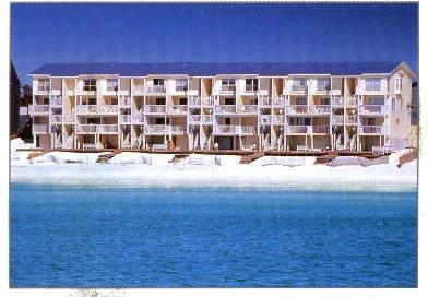Beach side, Picture taken from a boat - A True Gulf Front, 3 Bd, 3.5 BT Wifi & Great Rates - Miramar Beach - rentals