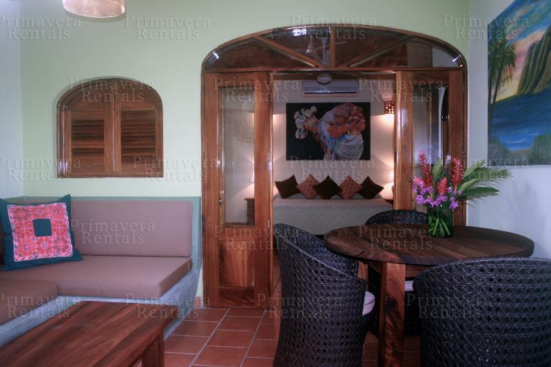 living and dining area - 1 Bedroom unit at Casa Mariposa - Sayulita - rentals