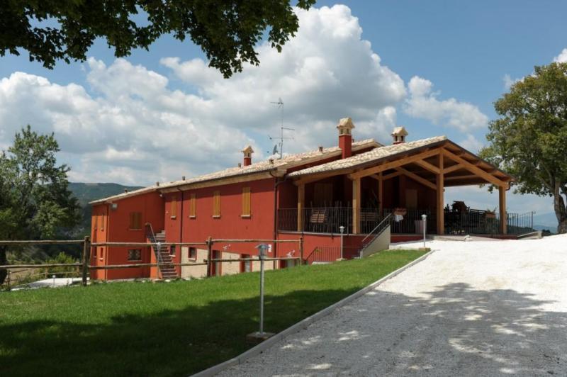 panoramica - I Conti Agriturismo in Acqualagna - Acqualagna - rentals