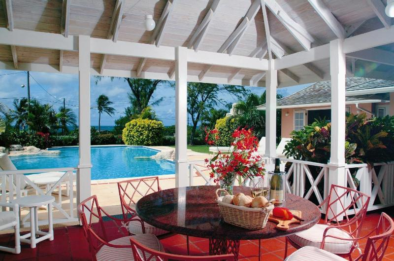 Gazebo and pool - Baranga-3 bed/3 bath ocean view villa-private pool - Saint Philip - rentals