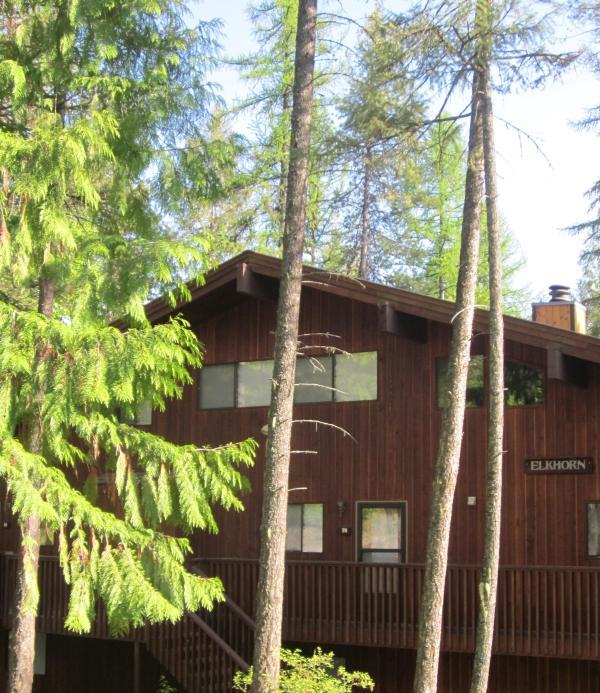Entrance to #99 ELKHORN - Beautiful Condo on Whitefish Mountain! - Whitefish - rentals