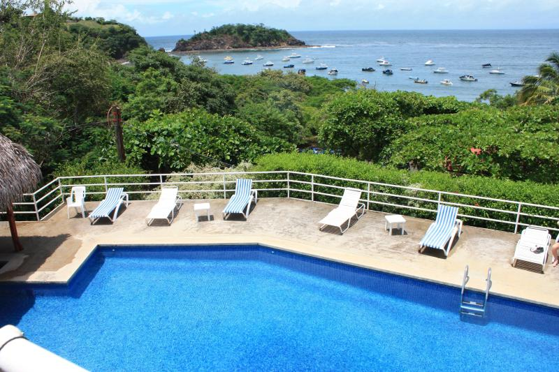 The Swimming Pool Beside our Villa offers spectaculars views - Beautiful Ocean Front Villa on Costa Rica Pacific - Playa Ocotal - rentals