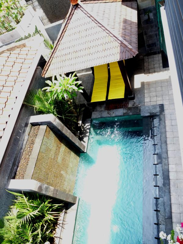 Looking over the pool from bedroom 2 balcony - LEGIAN BEACH PRIVATE VILLA, close to BEACH & SHOPS - Legian - rentals