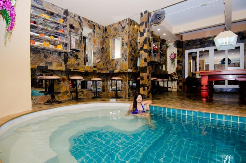 indoor pool and play room - Patong private pool house  5 min walk to the beach - Patong - rentals
