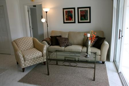 Living Room w/ View - SANDS - Marco Island - rentals