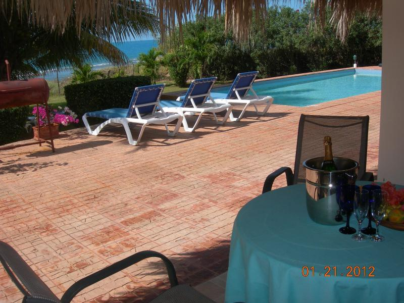 pool view - Pineapple Suite -your Micro Villa @ Marblue - Treasure Beach - rentals
