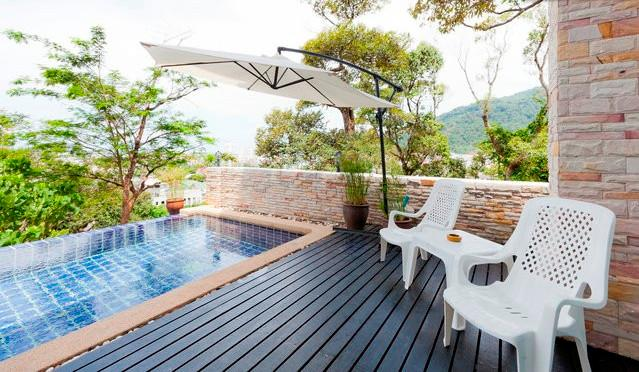 Patong Sea view private pool villa - Image 1 - Patong - rentals