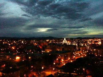 Harbour View by Night - James Bay 14th Floor 2bd Condo, City & Ocean Views - Victoria - rentals
