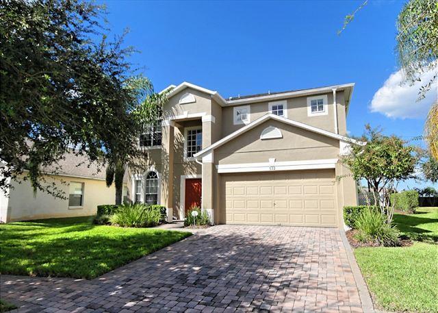 Front View - ST JOHN VILLA: 4 Bedroom Home in Gated Community - Davenport - rentals