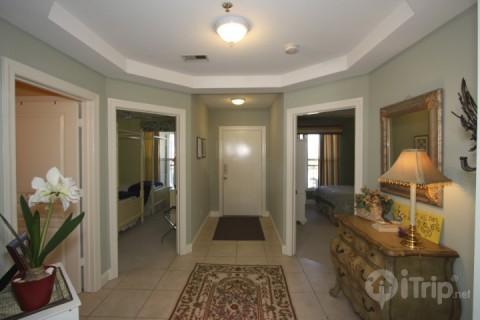 Welcoming foyer - 1140 Ocean Blvd #203 - Isle of Palms - rentals