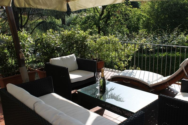 terrace - La Terrazza Rental with Large Terrace in Lucca - Lucca - rentals