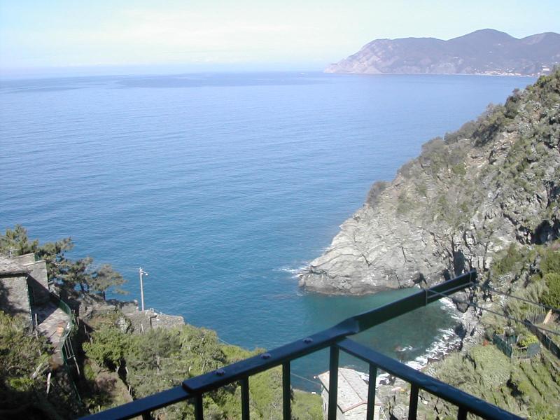 View from balcony - Casa Fabrizia - Corniglia - rentals