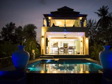 Palm island Villa. - New Luxurious Beach Pool Villa with Small Island. - Koh Chang - rentals