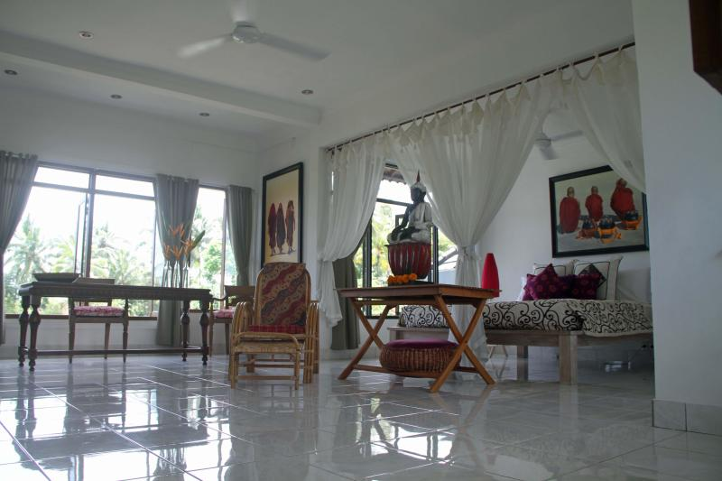 Master Bedroom View - Orchid Villa West - Ubud - rentals