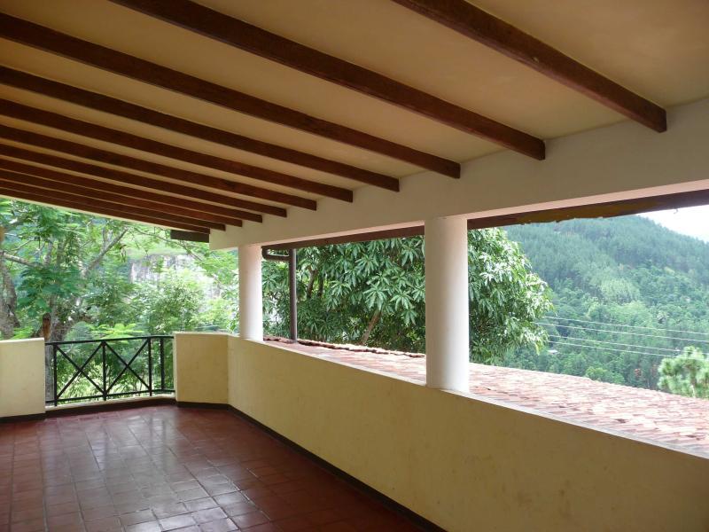 Some breathtaking scenaries can be enjoyed from this large terrace - Amandari Holiday Villa  Kandy, Sri Lanka - Kandy - rentals