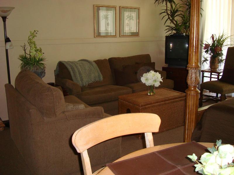 Living Room - King Suites - Palm Desert - rentals