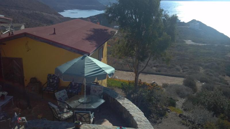 Bed and Breakfast Patio - Bed and Breakfast Inn next to Bufadora Waterspout - Ensenada - rentals