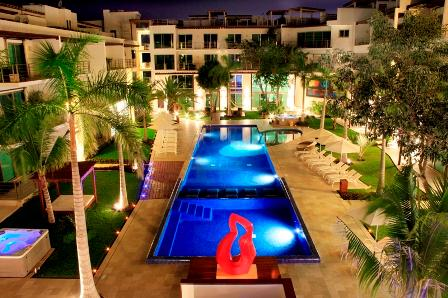 Z6 Penthouse with private Jacuzzi - 2mins to Beach - Image 1 - Playa del Carmen - rentals