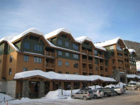 Morning Eagle building in the village of Whitefish Mountain Resort - Ski in/out Luxurious Condo, Whitefish Mtn Resort - Whitefish - rentals