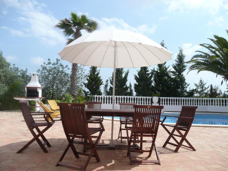 the pool terrace - Withdrawn - Tavira - rentals