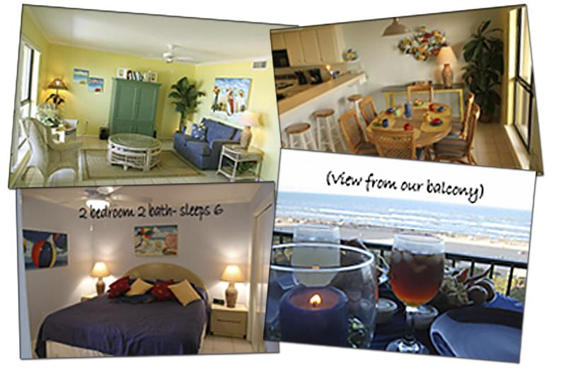 Quick Glimpse - A-Rated Padre Beachfront Condo Special Offer - Port Isabel - rentals
