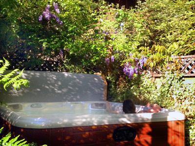 Bonne Chere, Magical Hot tub in garden setting - Bonne Chere - Romantic Getaway with Private Spa - Guerneville - rentals