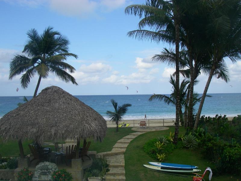 View from top deck - Cabarete Beach Rentals. 2 bed condos BEST Location - Cabarete - rentals