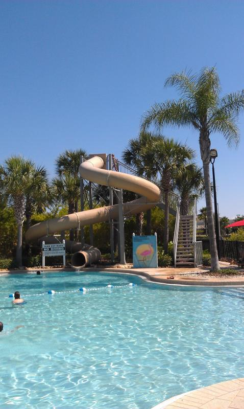 With Waterslide!! - 3 Bedroom Condo at Windsor Hills Resort with a Balcony, a Pool and Slide, 2 miles to  Disney - Kissimmee - rentals