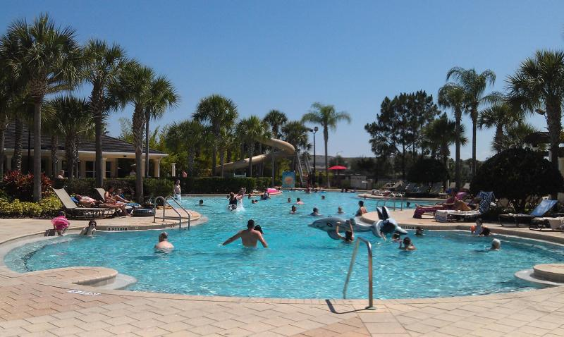 Heated Pool - 3 Bedroom Condo at Windsor Hills Resort with a Balcony, a Pool and Slide, 2 miles to  Disney - Kissimmee - rentals