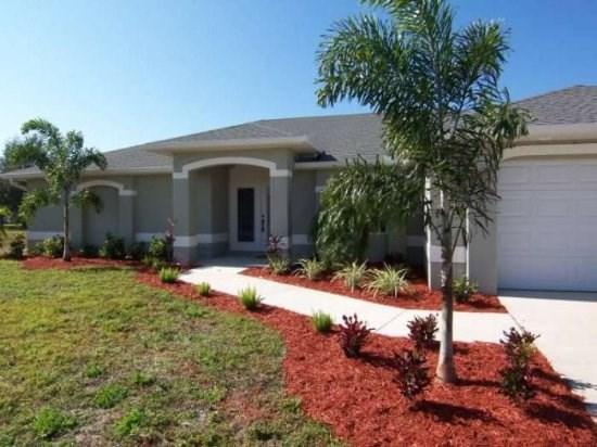 Front View - Austria - Cape Coral 3b/2ba Offwater Home, Electric Heated Pool, Contemporary Furnished, WHS Internet, - Cape Coral - rentals