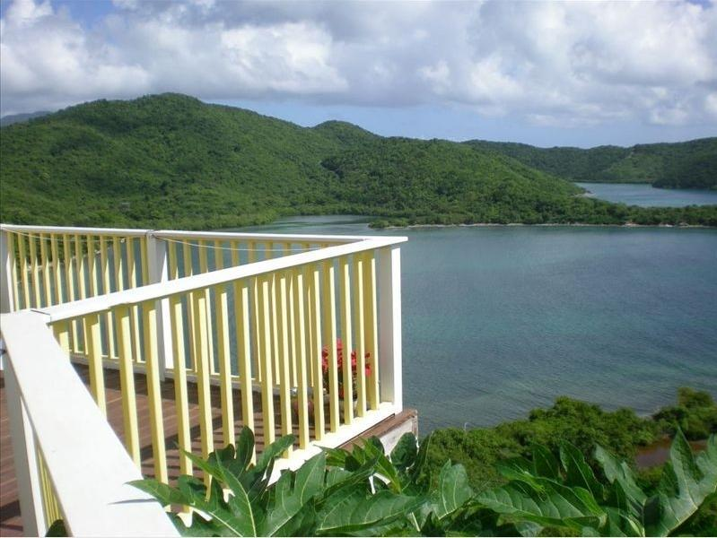 view - Sweet Wind Villa overlooking Hurricane Hole - Coral Bay - rentals