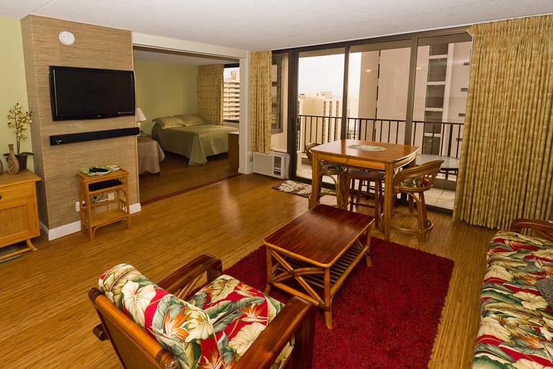 Waikiki Banyan - Waikiki Banyan Tower 2 Suite 2404 - Waikiki - rentals
