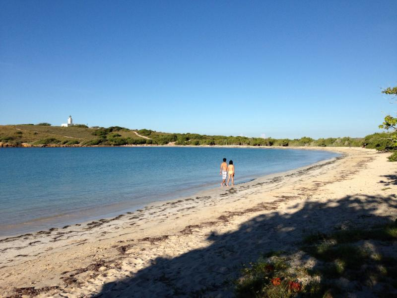 Beach in the morning (Playuela beach) - Waterfront Condo in Cabo Rojo - Cabo Rojo - rentals