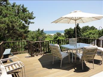 View of Nauset Beach from Master 2, upper level. - REVORL 109142 - Orleans - rentals