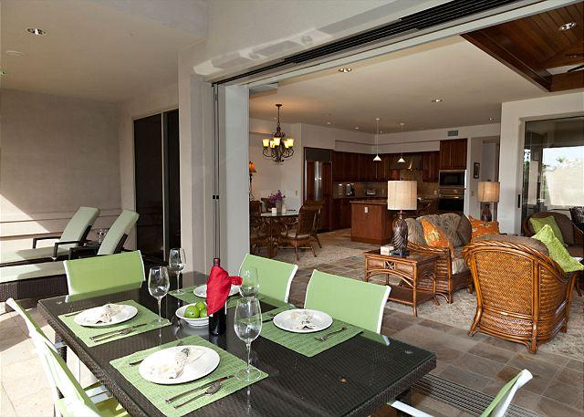 Outside Dining Area - SPRING SPECIAL 7TH NIGHT FREE - Hale Malia - Brand New Deluxe 3BR Townhome! - Kamuela - rentals