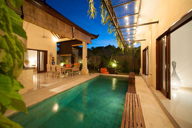 3 Bedroom Villa Esmee - View of swimming pool - Villa Esmee - 2/3 Bed Budged Private Villa in Sem - Seminyak - rentals
