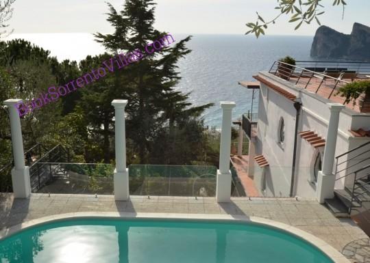 APPARTAMENTO LA GRANSEOLA B  - SORRENTO PENINSULA - Marina del Cantone - Image 1 - Marina del Cantone - rentals