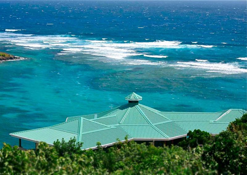 Reef House & view of off shore reef :-) - Reef House Bequia--Powerful Ocean Views! 2 or 5 BR - Bequia - rentals
