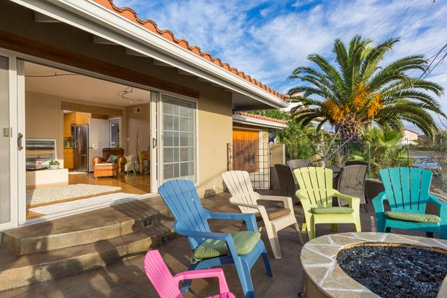 Enjoy a Fire, Ocean, Sunset Views & Sea World Fireworks in Summer from Front Patio with Seating for 14! - Luxury La Jolla OCEAN & SUNSET VIEWS (Entire House - La Jolla - rentals